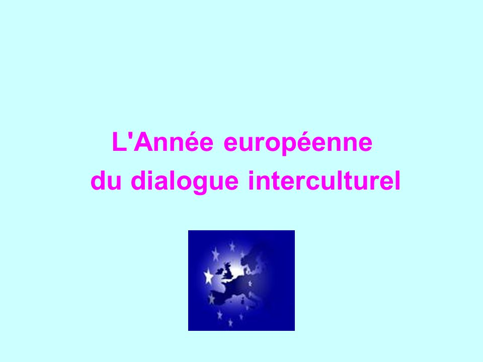 du dialogue interculturel