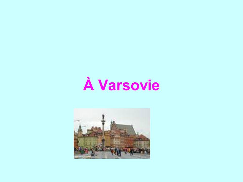 À Varsovie