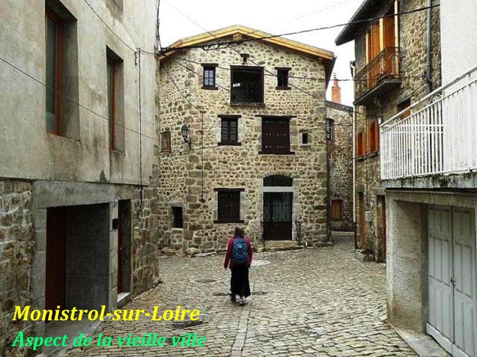 Monistrol-sur-Loire Aspect de la vieille ville