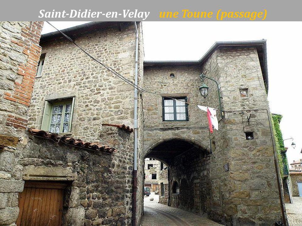 Saint-Didier-en-Velay une Toune (passage)