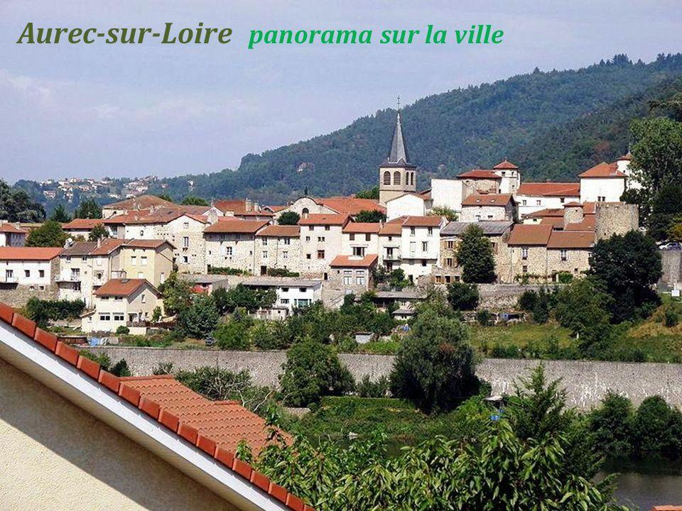 Aurec-sur-Loire panorama sur la ville