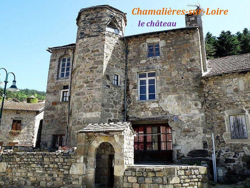Chamalières-sur-Loire . le château