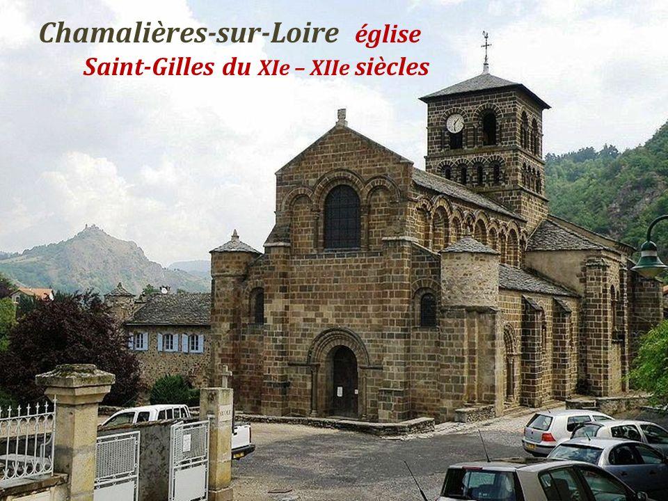Chamalières-sur-Loire église . Saint-Gilles du XIe – XIIe siècles
