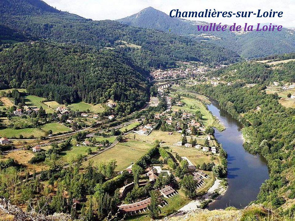 Chamalières-sur-Loire . vallée de la Loire