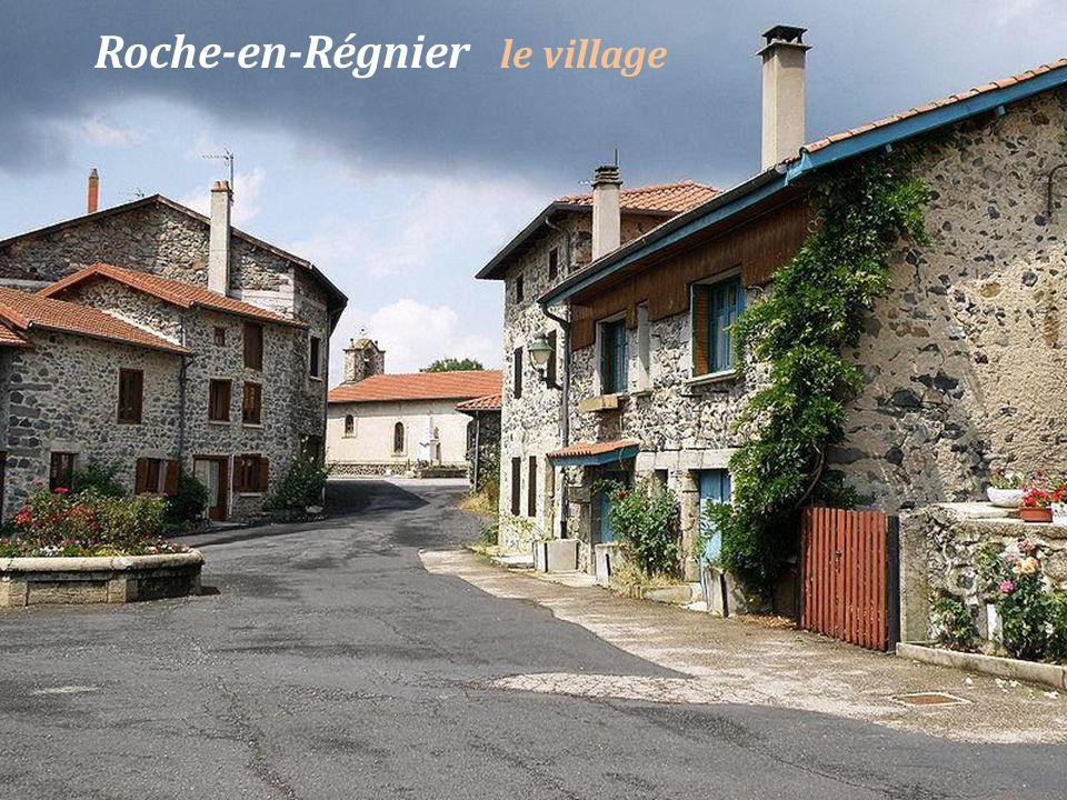 Roche-en-Régnier le village