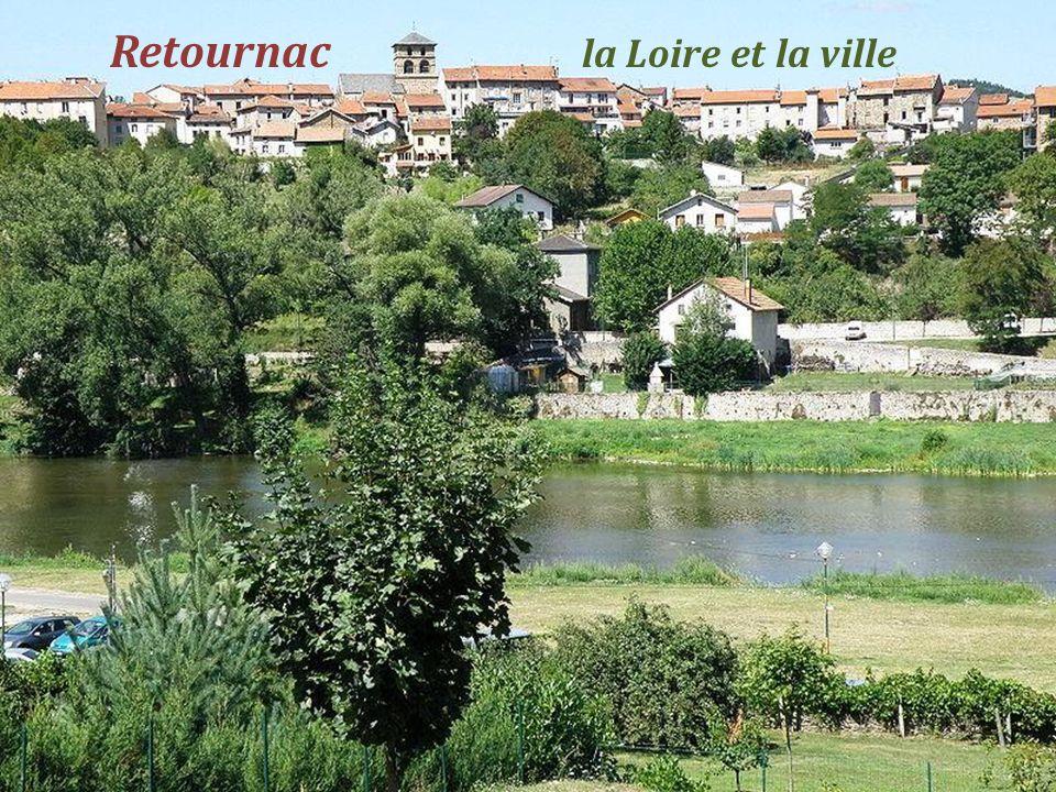 Retournac la Loire et la ville