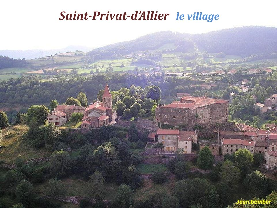Saint-Privat-d'Allier le village