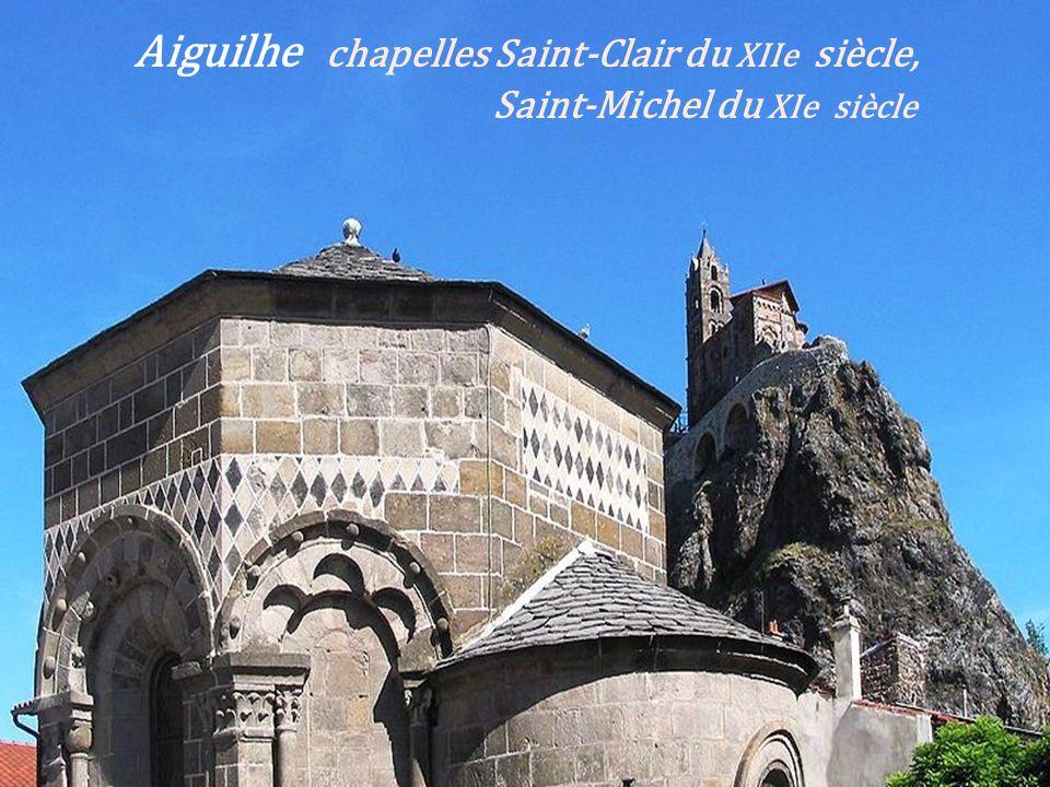 Aiguilhe chapelles Saint-Clair du XIIe siècle,