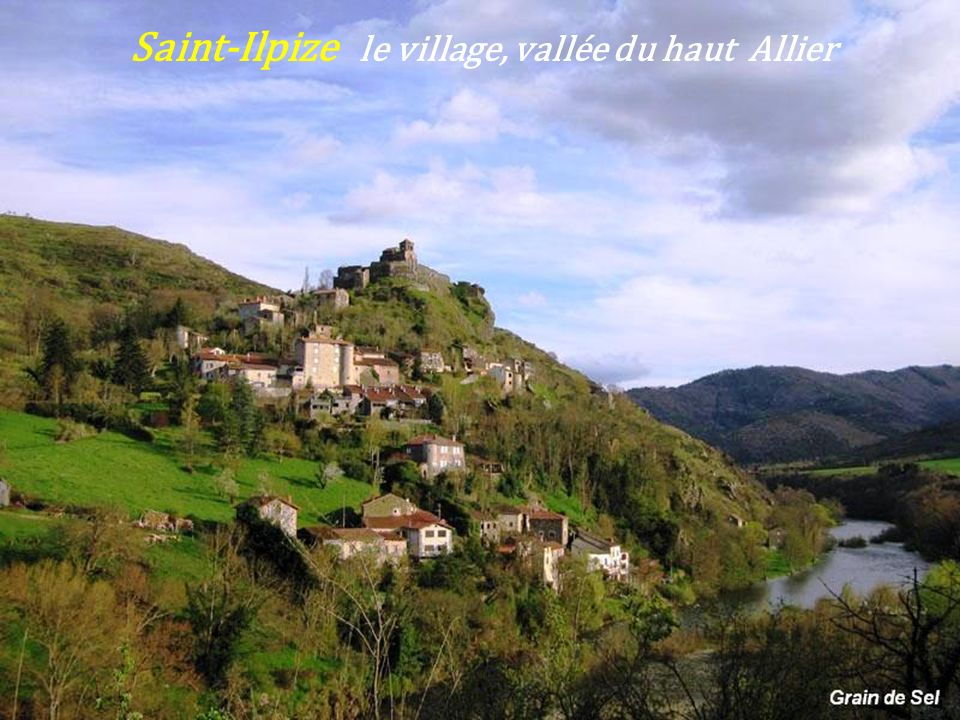 Saint-Ilpize le village, vallée du haut Allier
