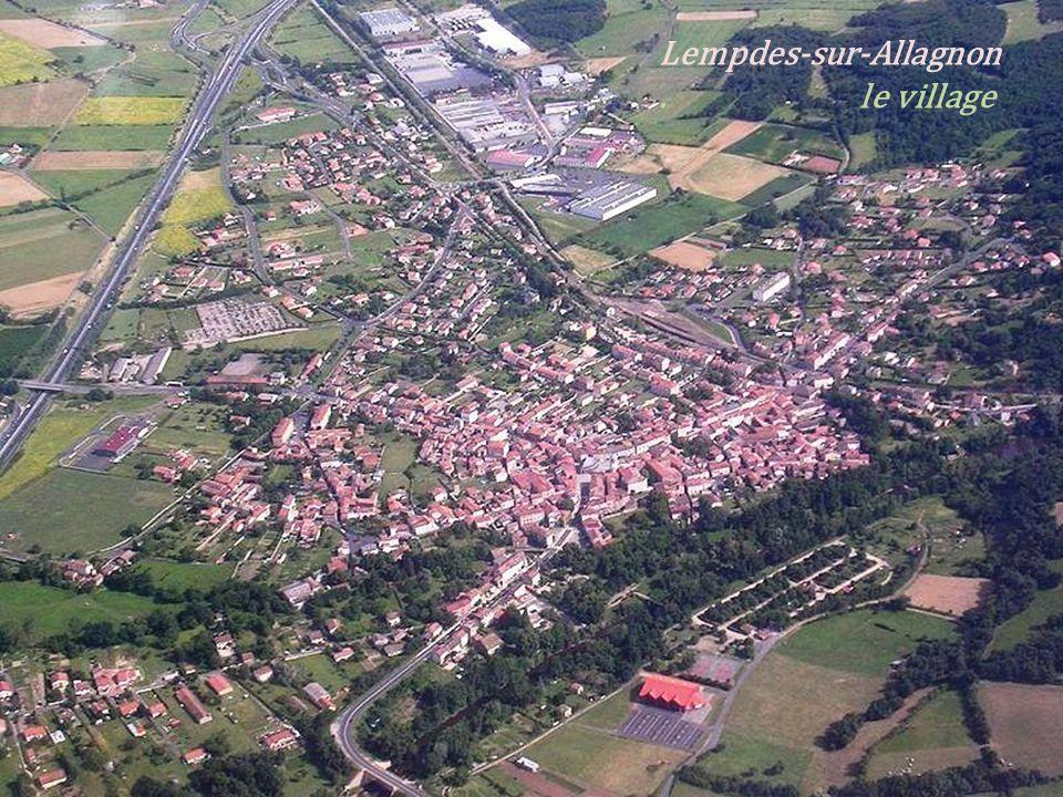 Lempdes-sur-Allagnon . le village