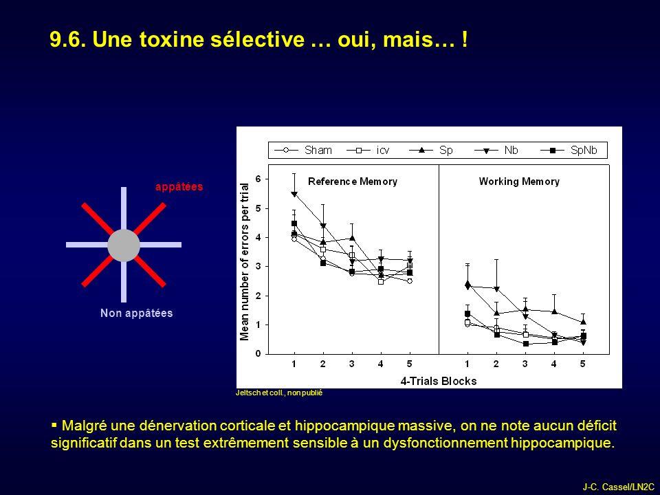 9.6. Une toxine sélective … oui, mais… !