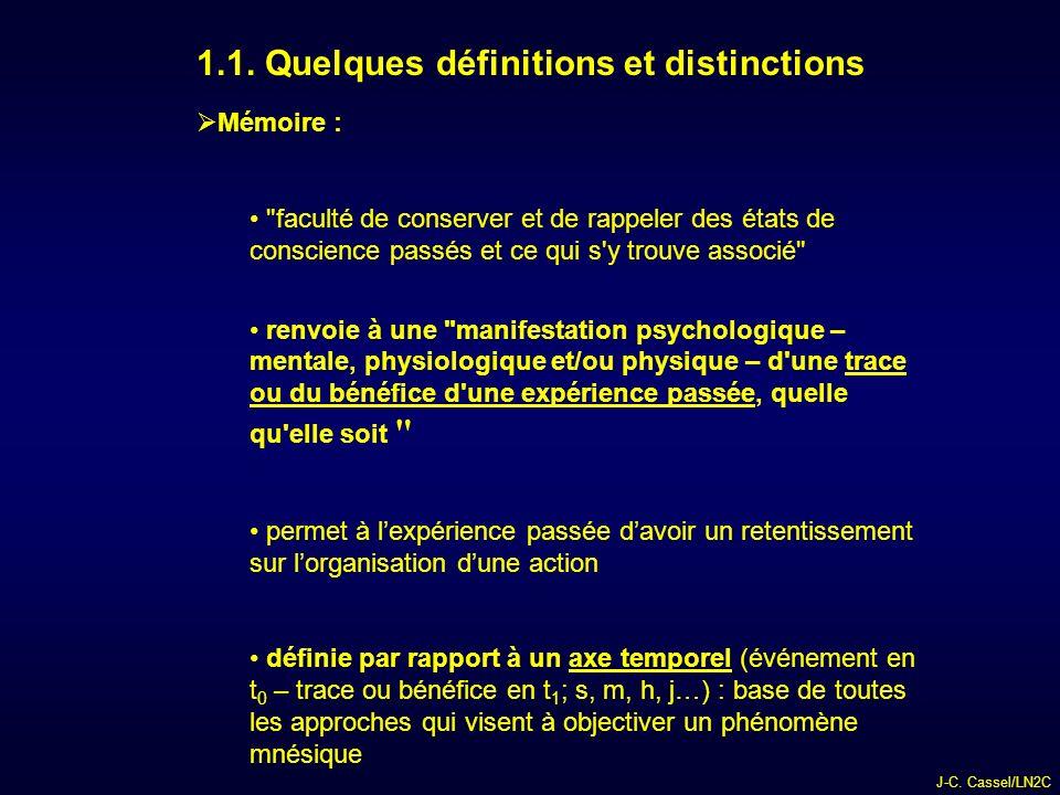 1.1. Quelques définitions et distinctions