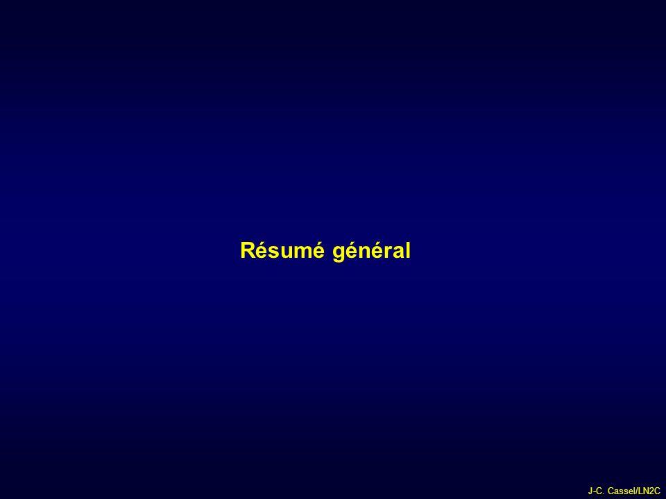 Résumé général J-C. Cassel/LN2C