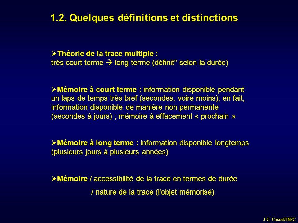 1.2. Quelques définitions et distinctions