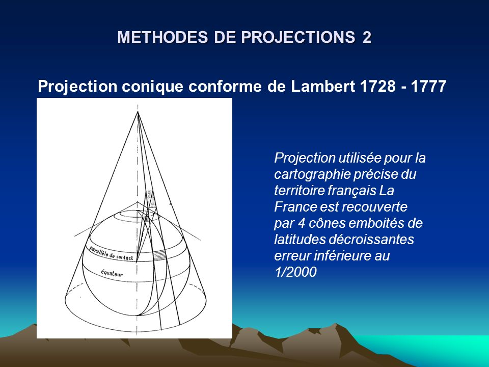 METHODES DE PROJECTIONS 2