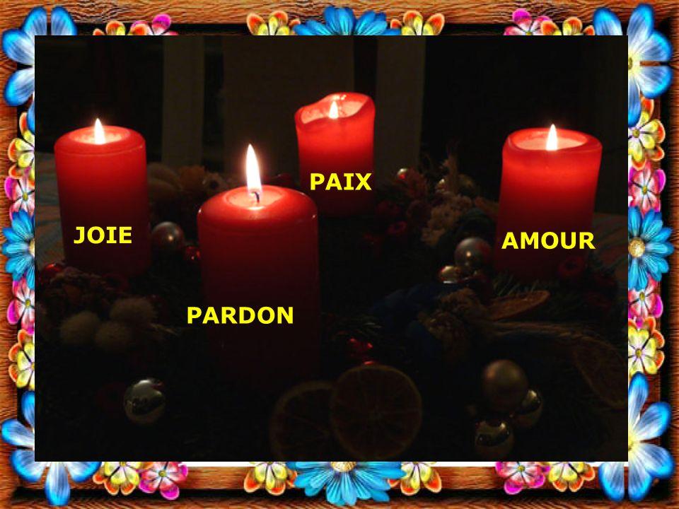 PAIX JOIE AMOUR PARDON