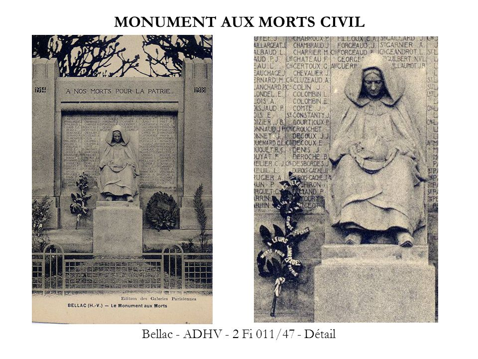 MONUMENT AUX MORTS CIVIL
