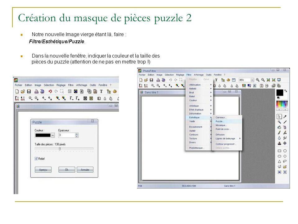 Création du masque de pièces puzzle 2