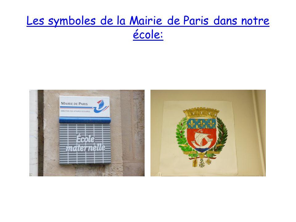 Les symboles de la Mairie de Paris dans notre école: