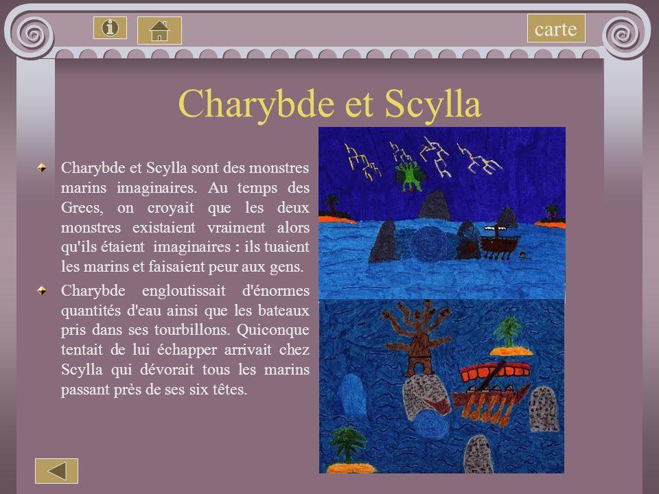 Charybde et Scylla carte