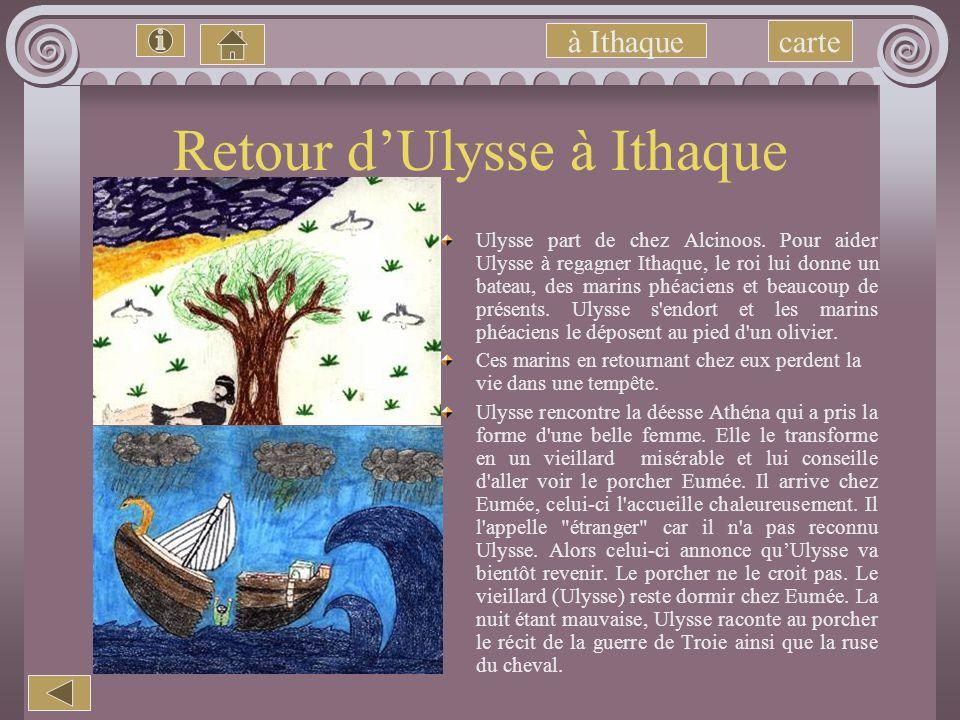 Retour d'Ulysse à Ithaque