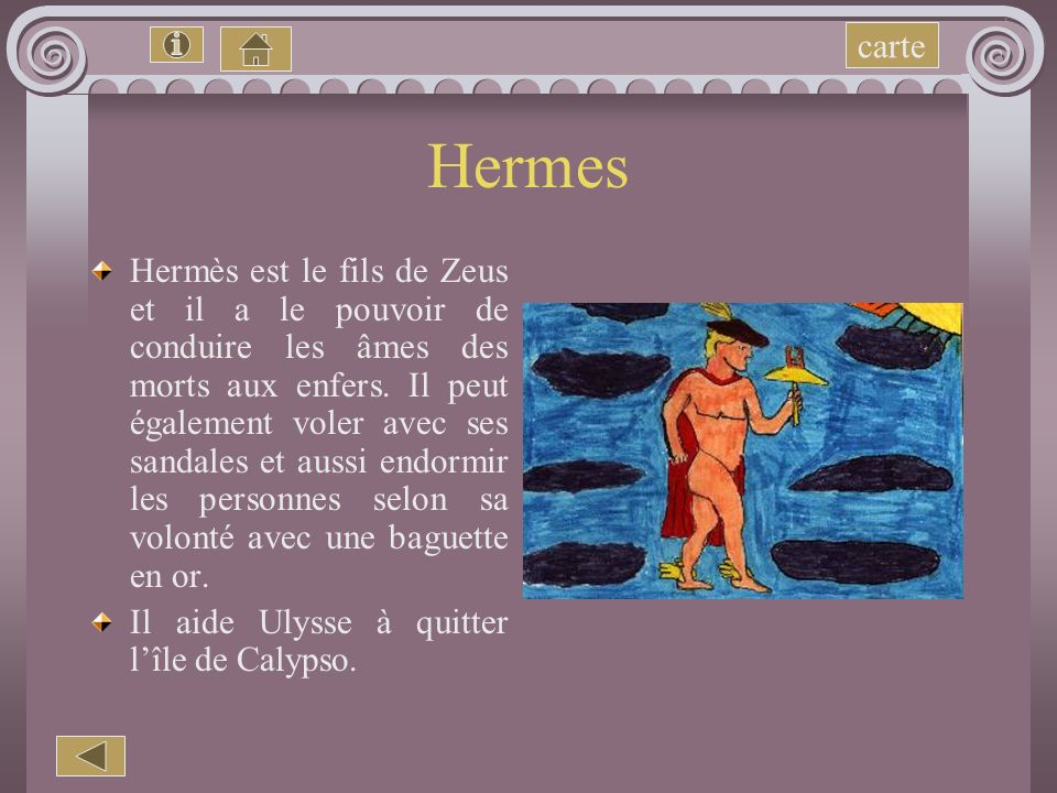 carte Hermes.