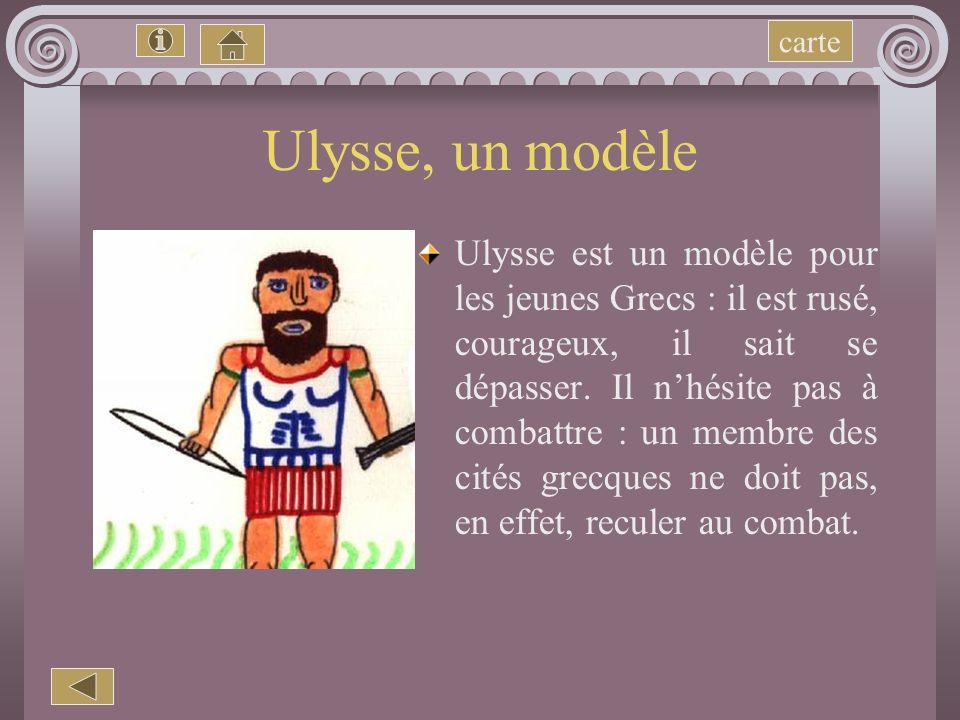 carte Ulysse, un modèle.