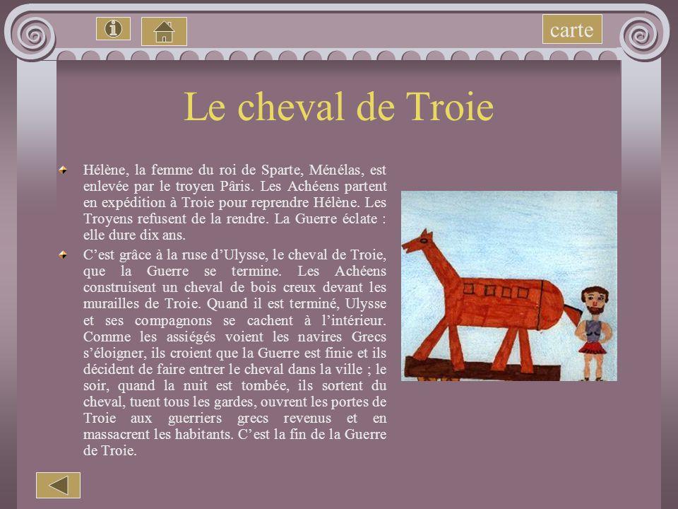 Le cheval de Troie carte