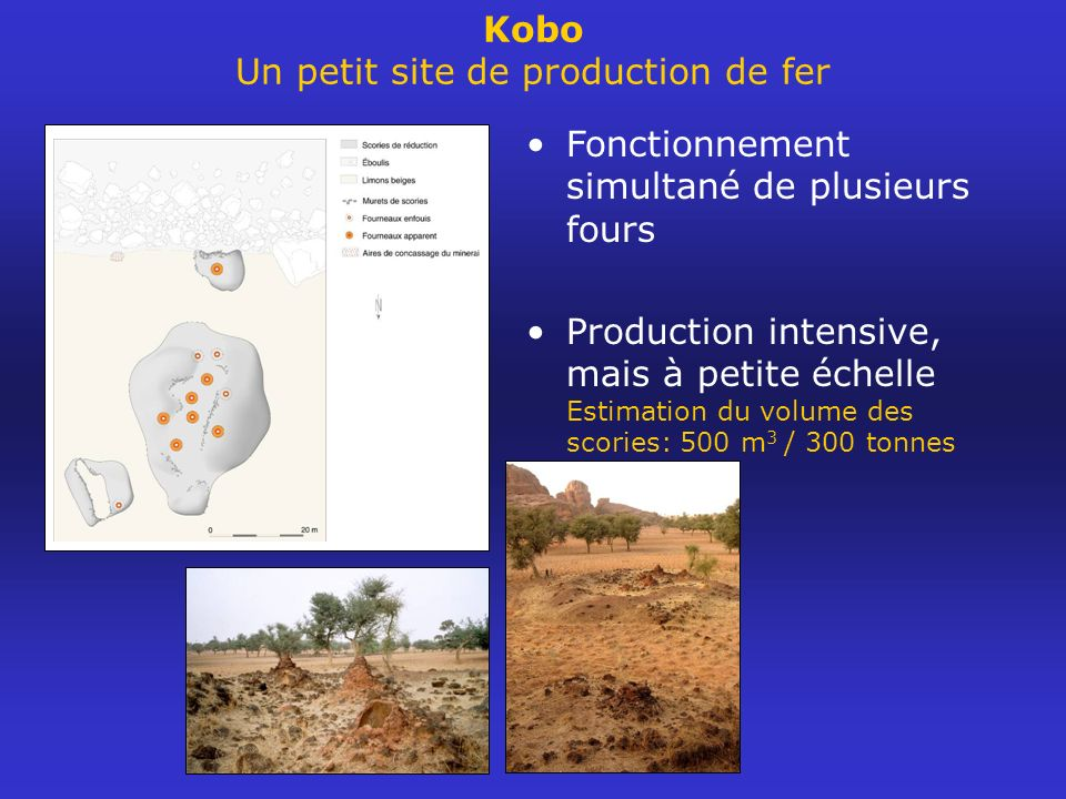 Kobo Un petit site de production de fer