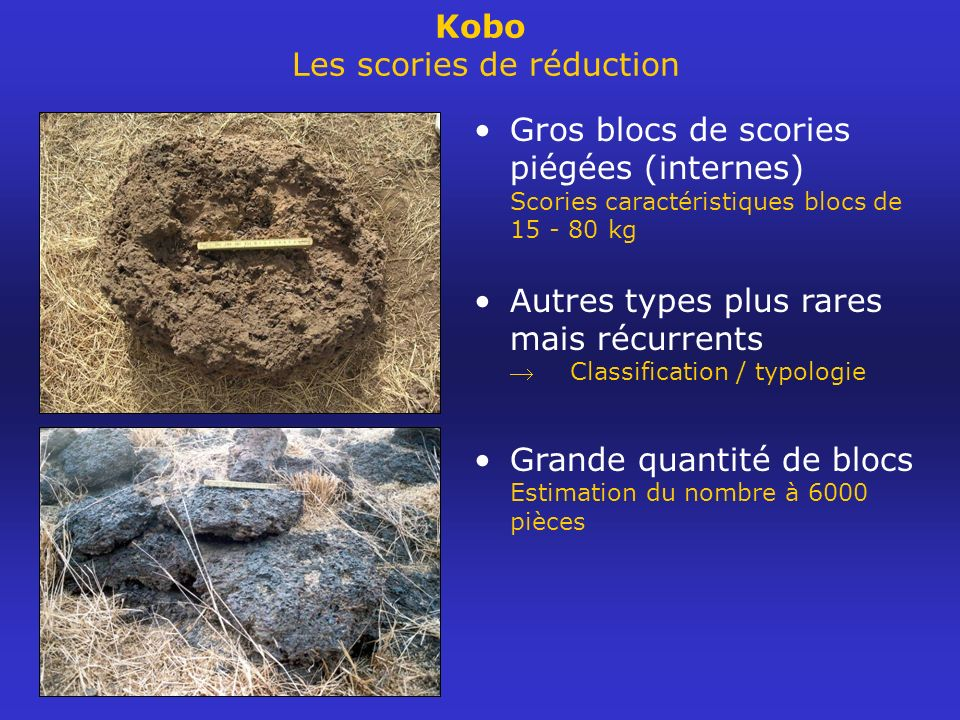 Kobo Les scories de réduction