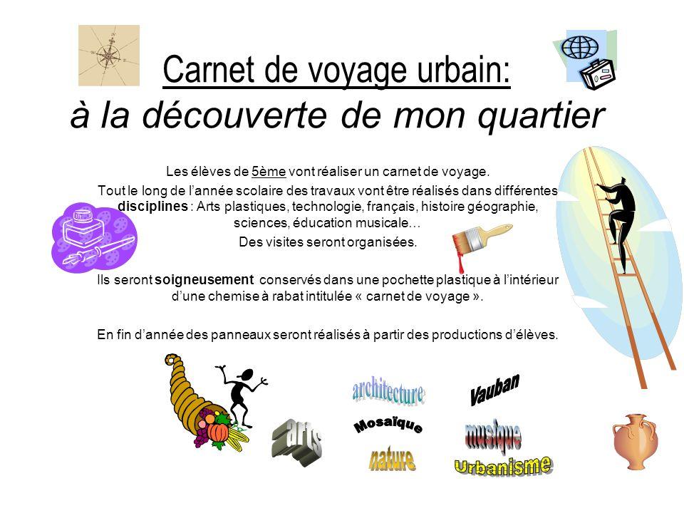 Carnet de voyage urbain: à la découverte de mon quartier