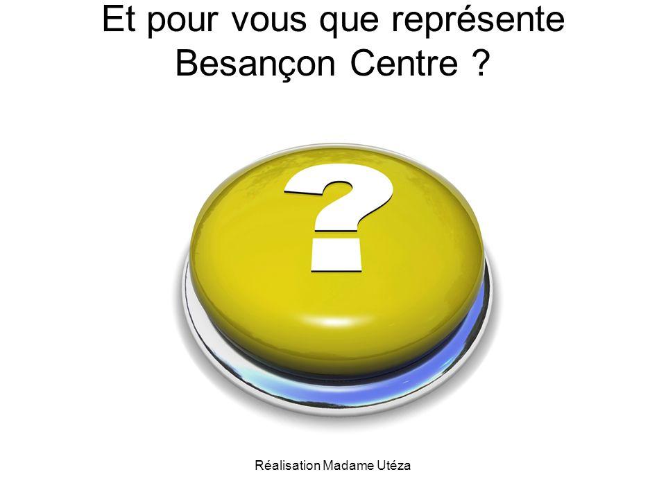 Et pour vous que représente Besançon Centre