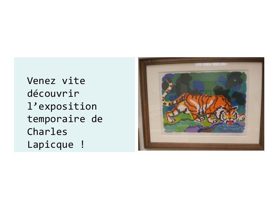 Venez vite découvrir l'exposition temporaire de Charles Lapicque !