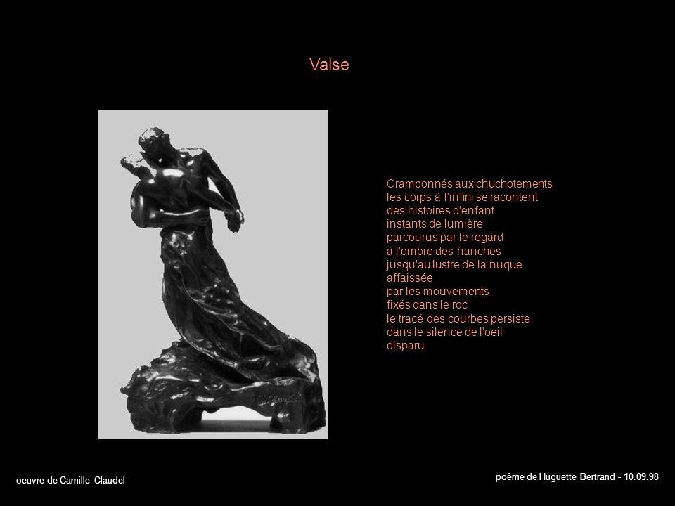 oeuvre de Camille Claudel