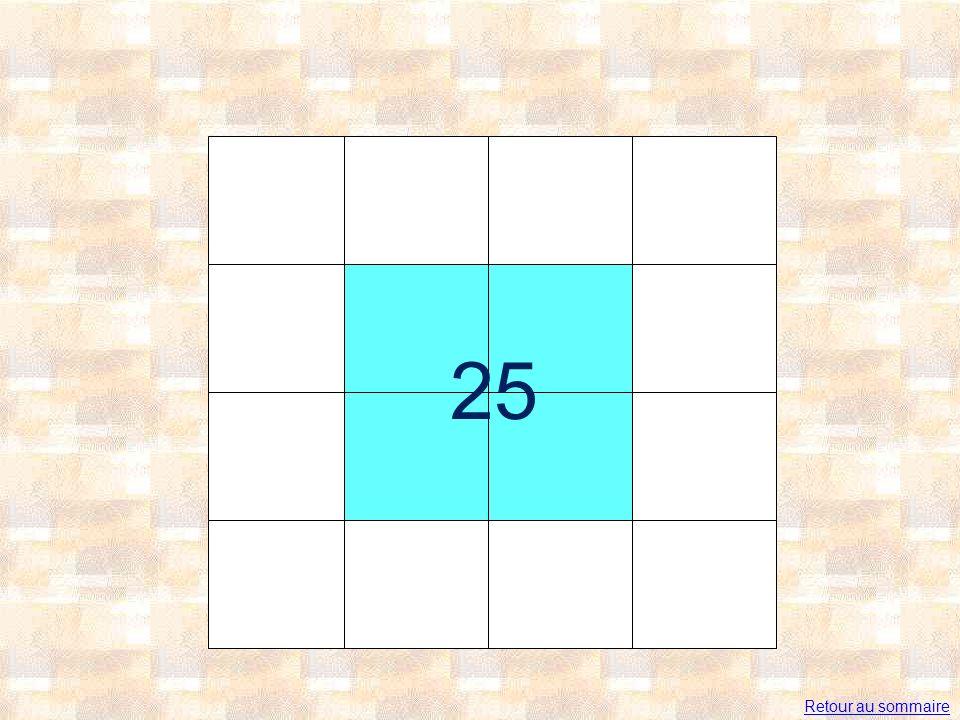 25 Retour au sommaire