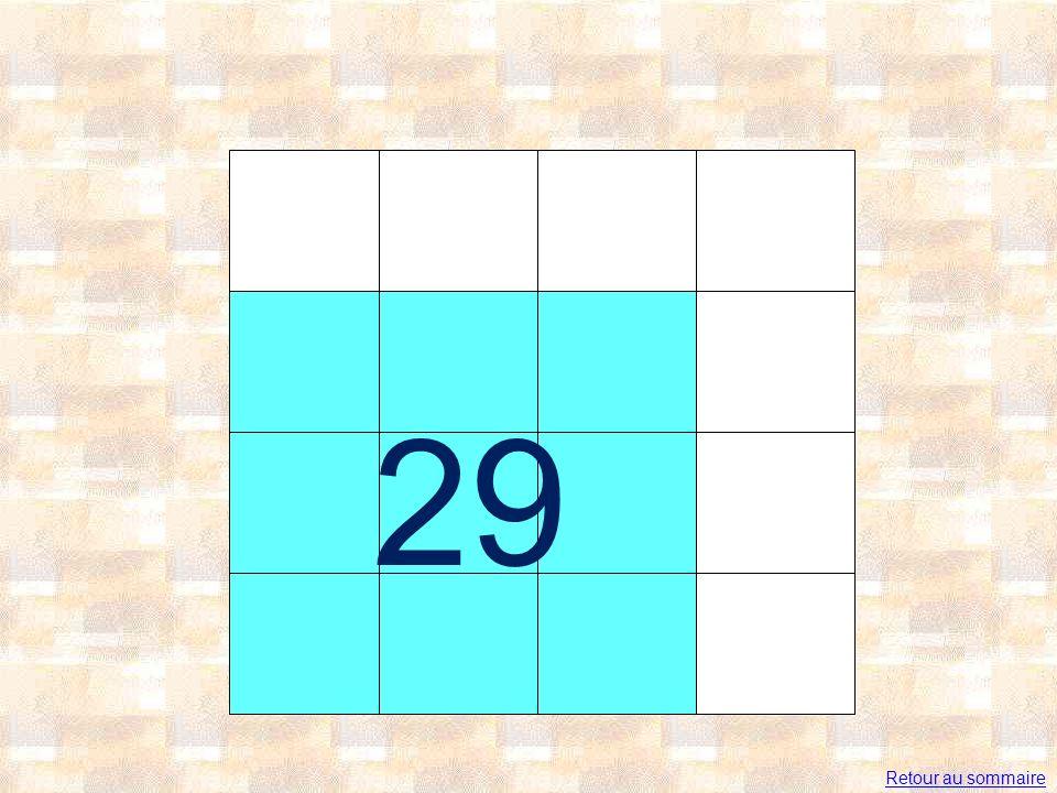 29 Retour au sommaire