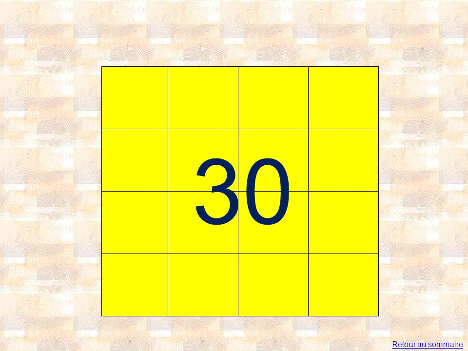 30 Retour au sommaire