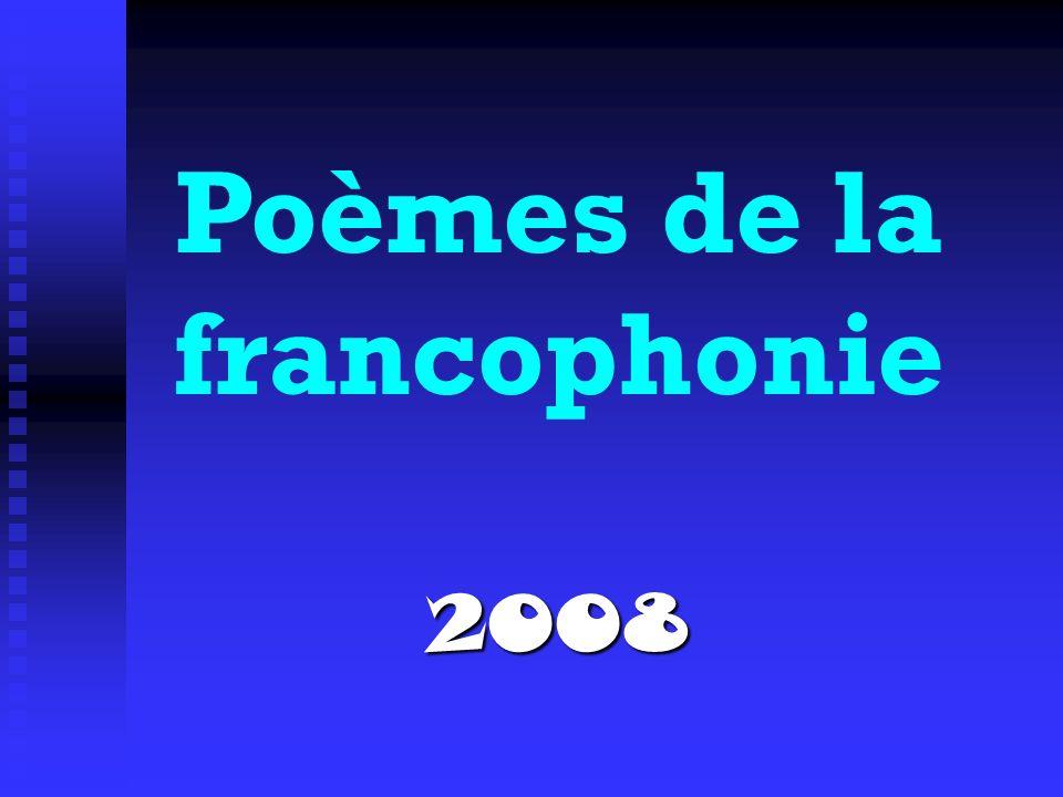 Poèmes de la francophonie