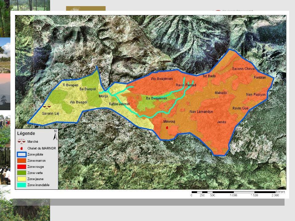 Chantier 3: Méthode Programme de Préservation et de Valorisation de la Biodiversité PVB.