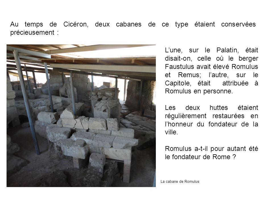 Romulus a-t-il pour autant été le fondateur de Rome