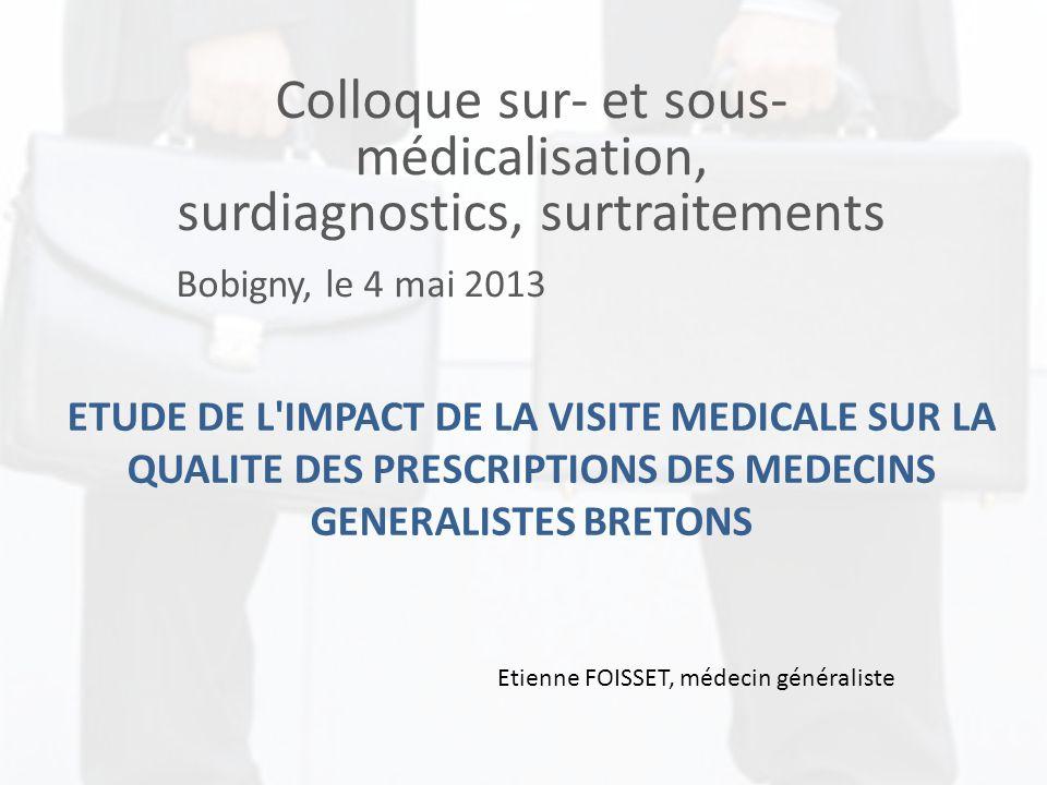 Colloque sur- et sous-médicalisation, surdiagnostics, surtraitements