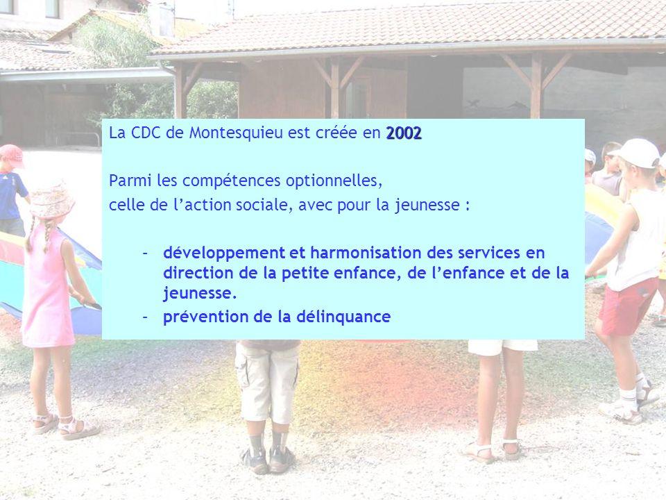 La CDC de Montesquieu est créée en 2002