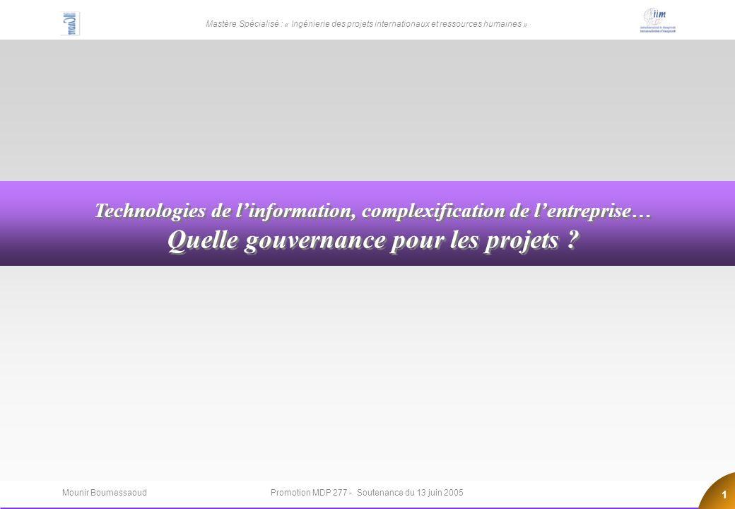 Quelle gouvernance pour les projets