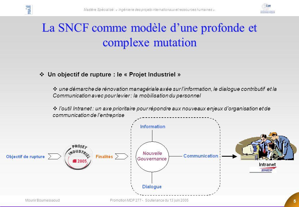 La SNCF comme modèle d'une profonde et complexe mutation