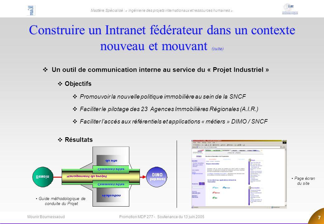 Quelle gouvernance pour les projets Internet …