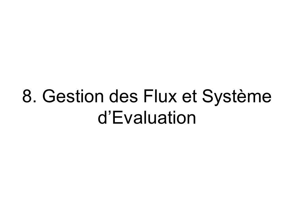 8. Gestion des Flux et Système d'Evaluation