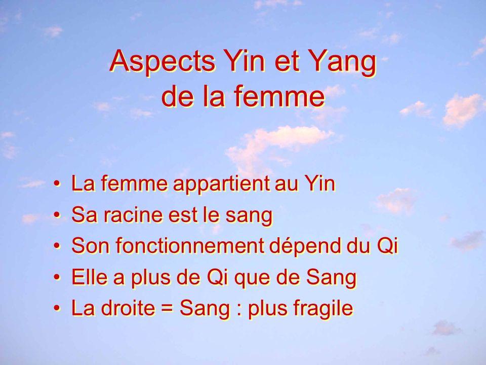 Aspects Yin et Yang de la femme