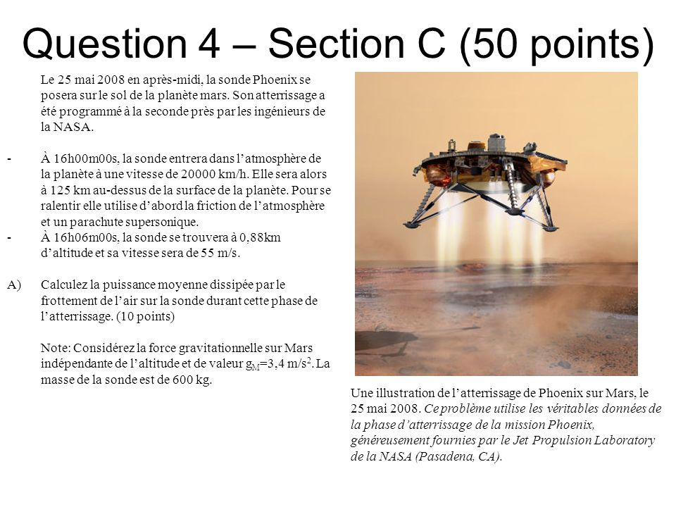 Question 4 – Section C (50 points)