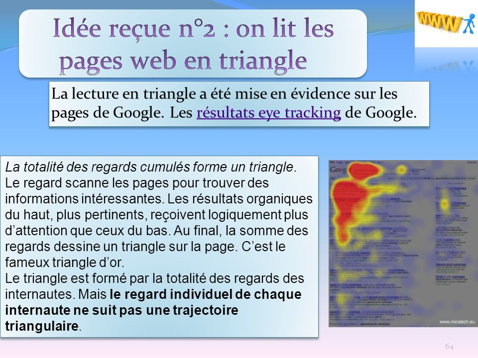 Idée reçue n°2 : on lit les pages web en triangle