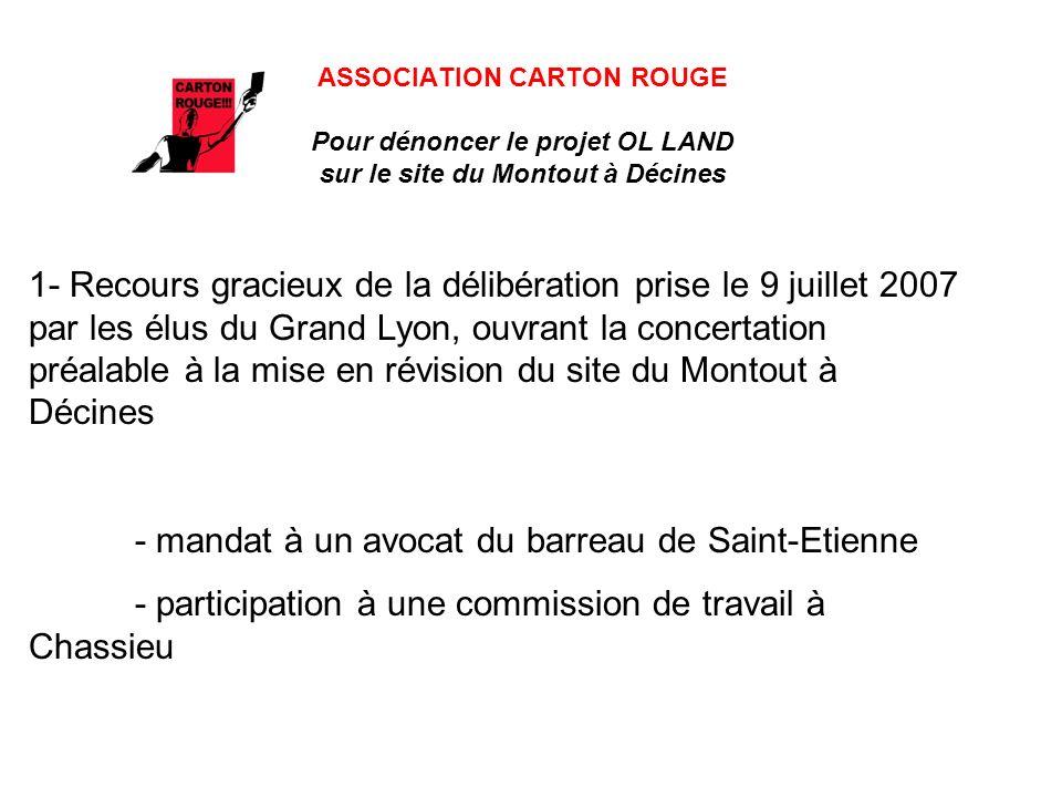 - mandat à un avocat du barreau de Saint-Etienne